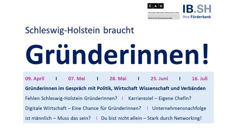 Schleswig-Holstein braucht Gründerinnen